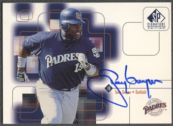 1999 SP Signature #TG Tony Gwynn Auto