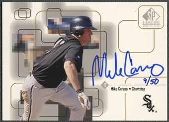 1999 SP Signature #MC Mike Caruso Gold Auto #09/50
