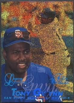 1997 Flair Showcase #37 Tony Gwynn Legacy Collection Row 0 #058/100