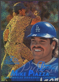 1997 Flair Showcase #31 Mike Piazza Legacy Collection Row 0 #077/100