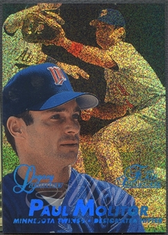 1997 Flair Showcase #4 Paul Molitor Legacy Collection Row 0 #016/100