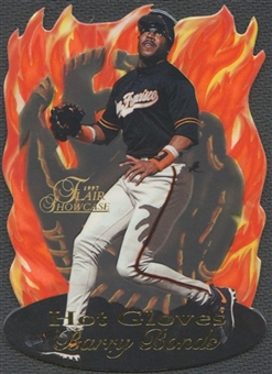 1997 Flair Showcase #2 Barry Bonds Hot Gloves