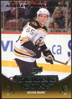 2010/11 Upper Deck #208 Andrew Bodnarchuk YG RC Young Guns Rookie Card