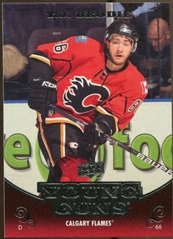 2010/11 Upper Deck #210 T.J. Brodie YG RC Young Guns Rookie Card