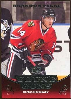 2010/11 Upper Deck #215 Brandon Pirri YG RC Young Guns Rookie Card
