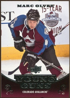 2010/11 Upper Deck #216 Mark Olver YG RC Young Guns Rookie Card