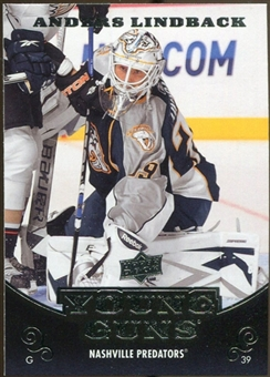 2010/11 Upper Deck #234 Anders Lindback YG RC Young Guns Rookie Card