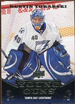 2010/11 Upper Deck #246 Dustin Tokarski YG RC Young Guns Rookie Card