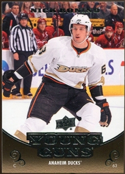 2010/11 Upper Deck #452 Nick Bonino YG RC Young Guns Rookie Card