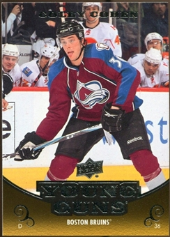 2010/11 Upper Deck #455 Colby Cohen YG RC Young Guns Rookie Card