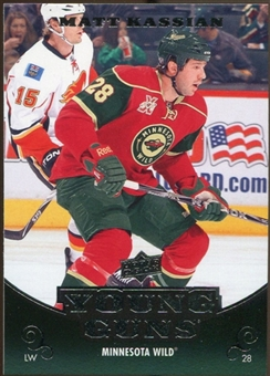 2010/11 Upper Deck #470 Matt Kassian YG RC Young Guns Rookie Card