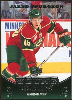 2010/11 Upper Deck #472 Jared Spurgeon YG RC Young Guns Rookie Card