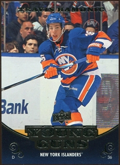 2010/11 Upper Deck #483 Travis Hamonic YG RC Young Guns Rookie Card