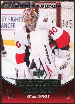 2010/11 Upper Deck #486 Robin Lehner YG RC Young Guns Rookie Card
