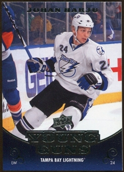 2010/11 Upper Deck #496 Johan Harju YG RC Young Guns Rookie Card