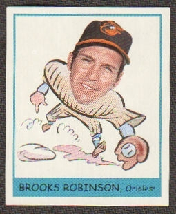 2007 Upper Deck Goudey Heads Up #256 Brooks Robinson