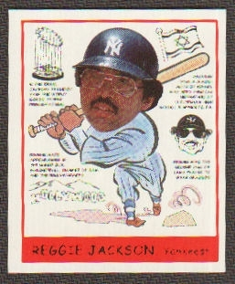 2007 Upper Deck Goudey Heads Up #274 Reggie Jackson