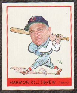 2007 Upper Deck Goudey Heads Up #281 Harmon Killebrew