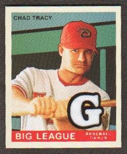 2007 Upper Deck Goudey Memorabilia #26 Chad Tracy