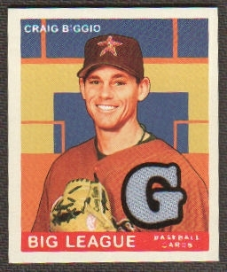 2007 Upper Deck Goudey Memorabilia #28 Craig Biggio