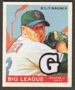 2007 Upper Deck Goudey Memorabilia #33 Billy Wagner