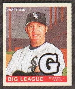 2007 Upper Deck Goudey Memorabilia #60 Jim Thome