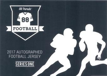 2017 Hit Parade Autographed Football Jersey Hobby Box Series - 1 - Aaron Rodgers & Derek Carr!!!!