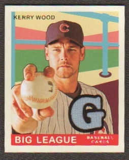 2007 Upper Deck Goudey Memorabilia #70 Kerry Wood