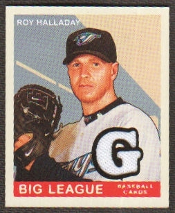 2007 Upper Deck Goudey Memorabilia #89 Roy Halladay