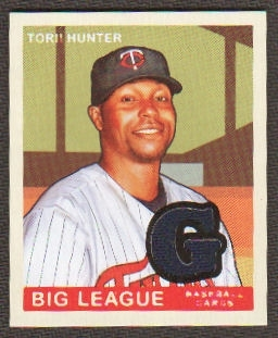 2007 Upper Deck Goudey Memorabilia #95 Torii Hunter