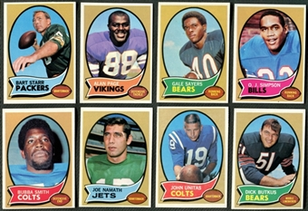 1970 Topps Football Complete Set (NM-MT)
