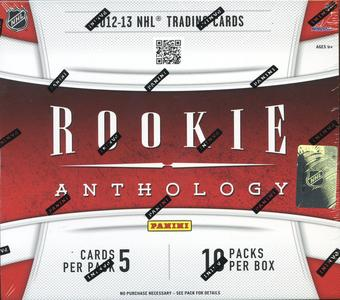 2012/13 Panini Rookie Anthology Hockey Hobby Pack (Lot of 10)(Same as Box)
