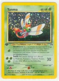 Pokemon Neo Discovery 1st Edition Single Yanma 17/75