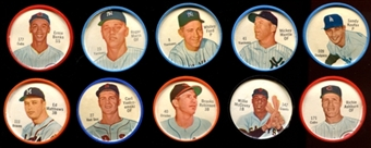 1962 Salada Baseball Coins Starter Set (73 Different)