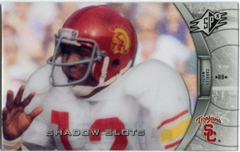 2012 Upper Deck SPx Shadow Slots Pose 3 #CW3 Charles White