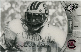 2012 Upper Deck SPx Shadow Slots Pose 3 #GR3 George Rogers