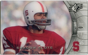 2012 Upper Deck SPx Shadow Slots Pose 3 #JP3 Jim Plunkett