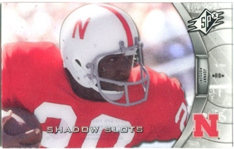 2012 Upper Deck SPx Shadow Slots Pose 3 #JR3 Johnny Rodgers