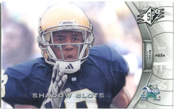 2012 Upper Deck SPx Shadow Slots Pose 3 #MF3 Michael Floyd