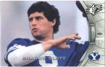 2012 Upper Deck SPx Shadow Slots Pose 3 #SY3 Steve Young