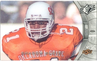 2012 Upper Deck SPx Shadow Slots Pose 4 #BS4 Barry Sanders