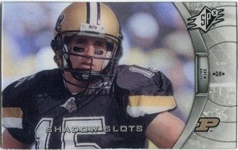 2012 Upper Deck SPx Shadow Slots Pose 4 #DB4 Drew Brees