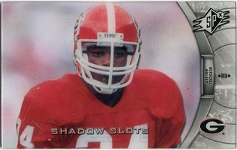 2012 Upper Deck SPx Shadow Slots Pose 4 #HW4 Herschel Walker