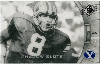 2012 Upper Deck SPx Shadow Slots Pose 4 #SY4 Steve Young
