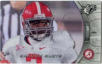 2012 Upper Deck SPx Shadow Slots Pose 4 #TR4 Trent Richardson