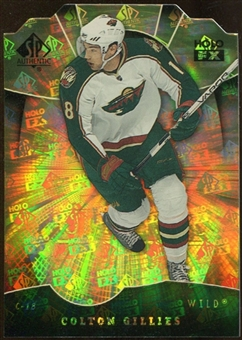 2008/09 Upper Deck SP Authentic Holoview FX Die Cuts #FX43 Colton Gillies