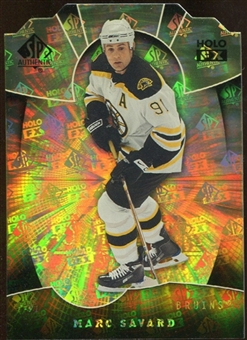 2008/09 Upper Deck SP Authentic Holoview FX Die Cuts #FX46 Marc Savard