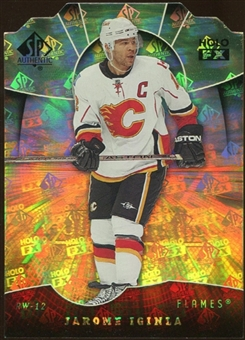 2008/09 Upper Deck SP Authentic Holoview FX Die Cuts #FX48 Jarome Iginla
