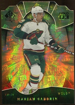 2008/09 Upper Deck SP Authentic Holoview FX Die Cuts #FX64 Marian Gaborik
