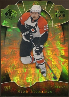 2008/09 Upper Deck SP Authentic Holoview FX Die Cuts #FX71 Mike Richards